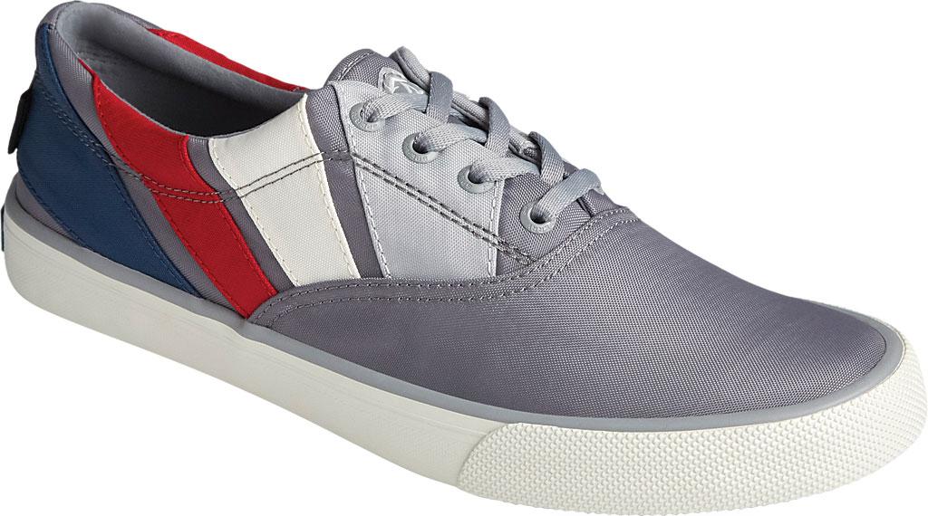 Men's Sperry Top-Sider Striper II CVO BIONIC Sneaker, Grey Multi Recycled Plastic, large, image 1