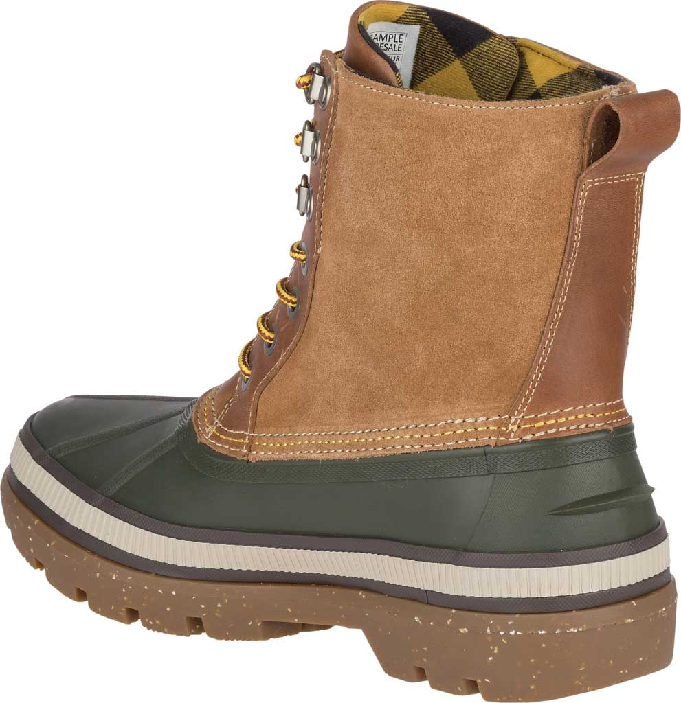 Men's Sperry Top-Sider Ice Bay Duck Boot, Olive/Tan Rubber, large, image 4