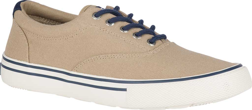 Men's Sperry Top-Sider Striper II Storm CVO Duck Canvas Sneaker, Chino Textile, large, image 1