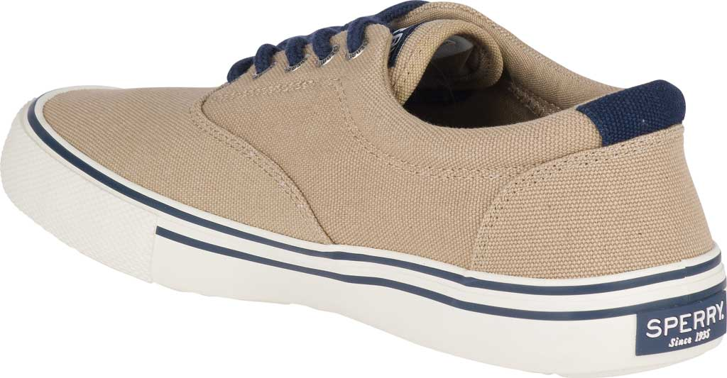 Men's Sperry Top-Sider Striper II Storm CVO Duck Canvas Sneaker, Chino Textile, large, image 4