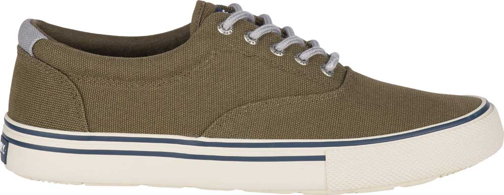 Men's Sperry Top-Sider Striper II Storm CVO Duck Canvas Sneaker, Olive Textile, large, image 2