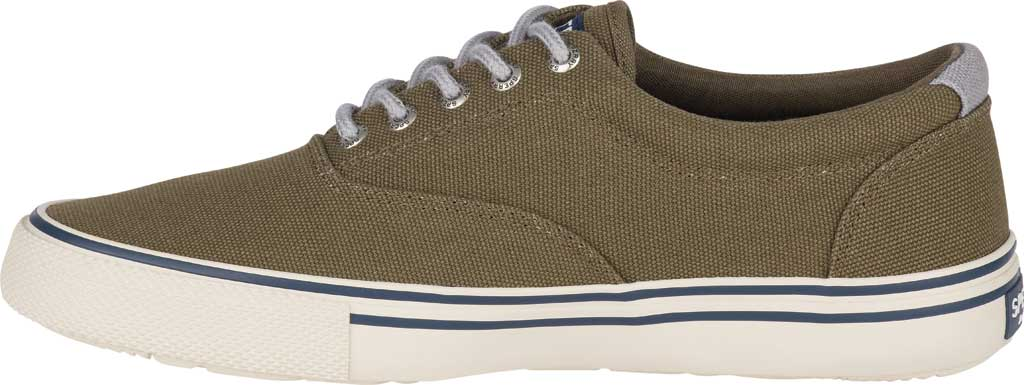 Men's Sperry Top-Sider Striper II Storm CVO Duck Canvas Sneaker, Olive Textile, large, image 3