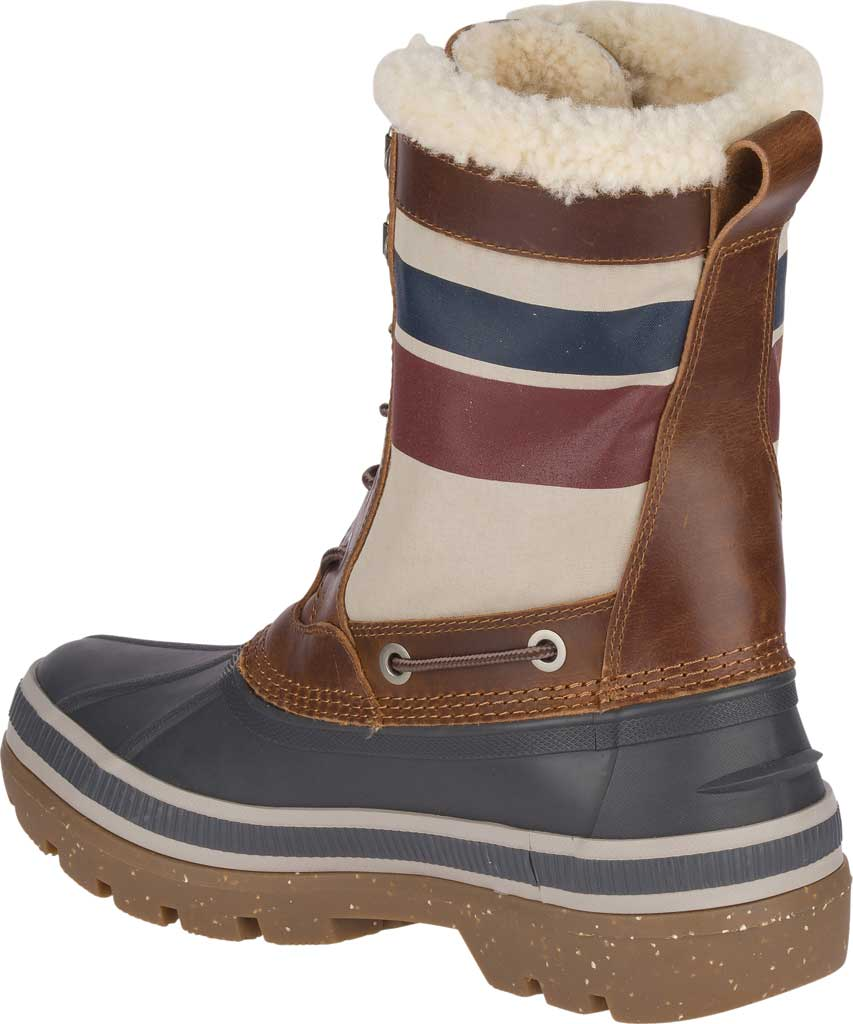 Men's Sperry Top-Sider Ice Bay Tall Duck Boot, Brown/Nautical Rubber, large, image 4