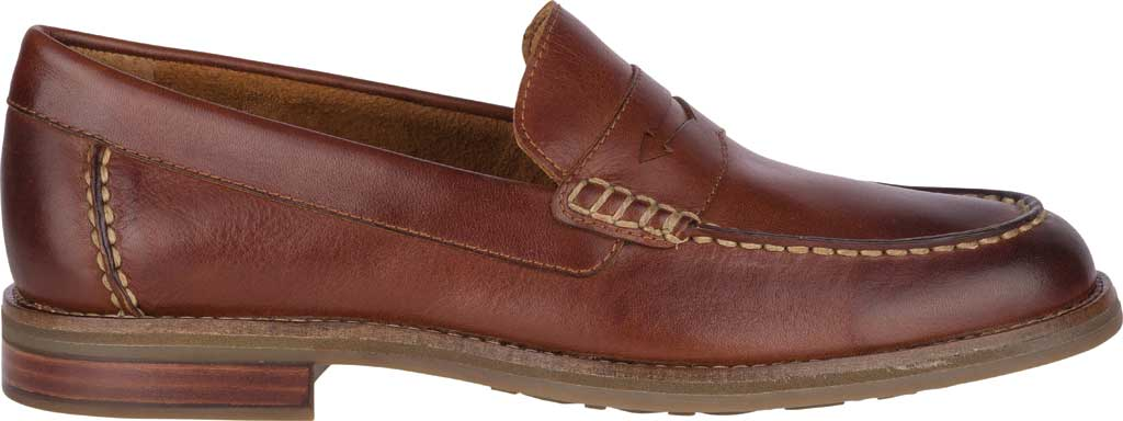 Men's Sperry Top-Sider Topsfield Penny Loafer, Tan Leather, large, image 2