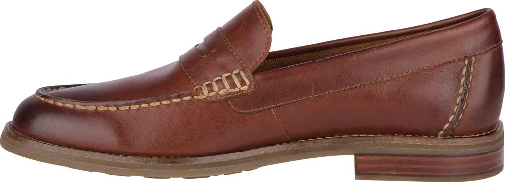 Men's Sperry Top-Sider Topsfield Penny Loafer, Tan Leather, large, image 3