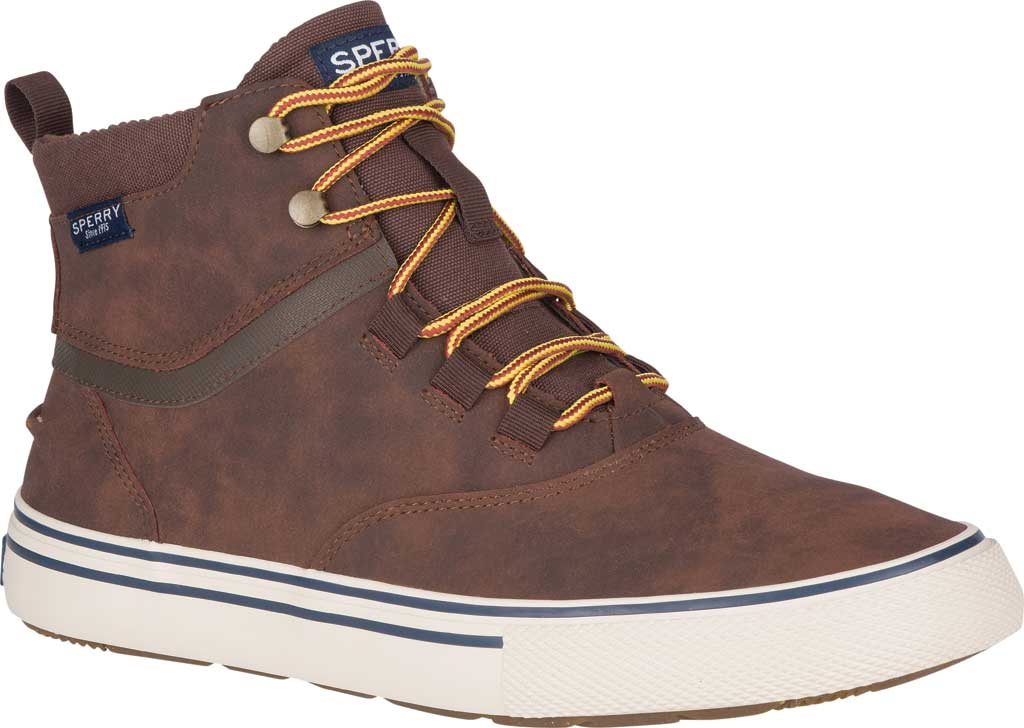 Men's Sperry Top-Sider Striper II Storm Waterproof Boot, Brown/Tan Leather, large, image 1