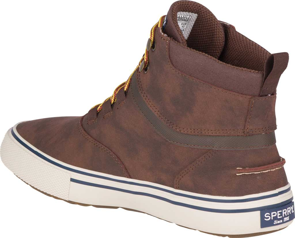 Men's Sperry Top-Sider Striper II Storm Waterproof Boot, Brown/Tan Leather, large, image 4