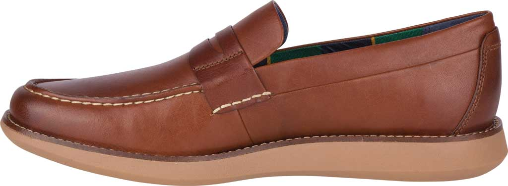 Men's Sperry Top-Sider Kennedy Varsity Penny Loafer, Rustic Tan Leather, large, image 3