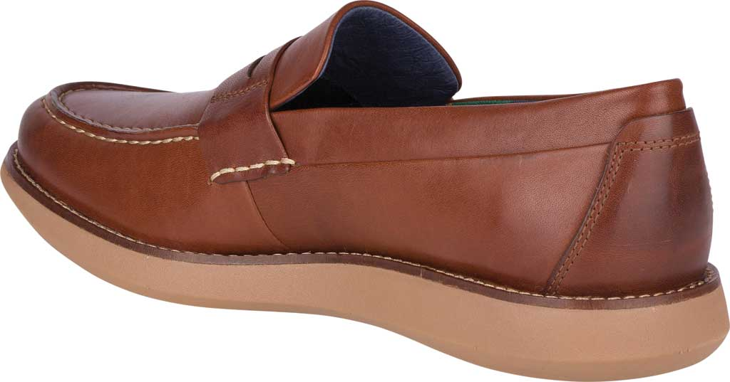 Men's Sperry Top-Sider Kennedy Varsity Penny Loafer, Rustic Tan Leather, large, image 4