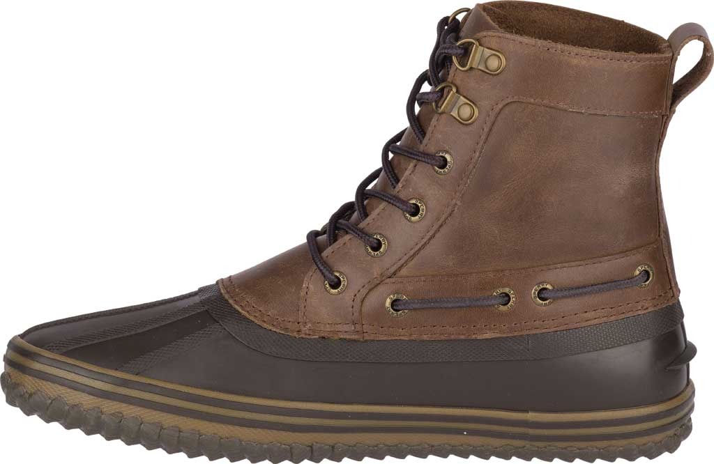 Men's Sperry Top-Sider Huntington Duck Boot, Brown/Dark Brown Rubber, large, image 3