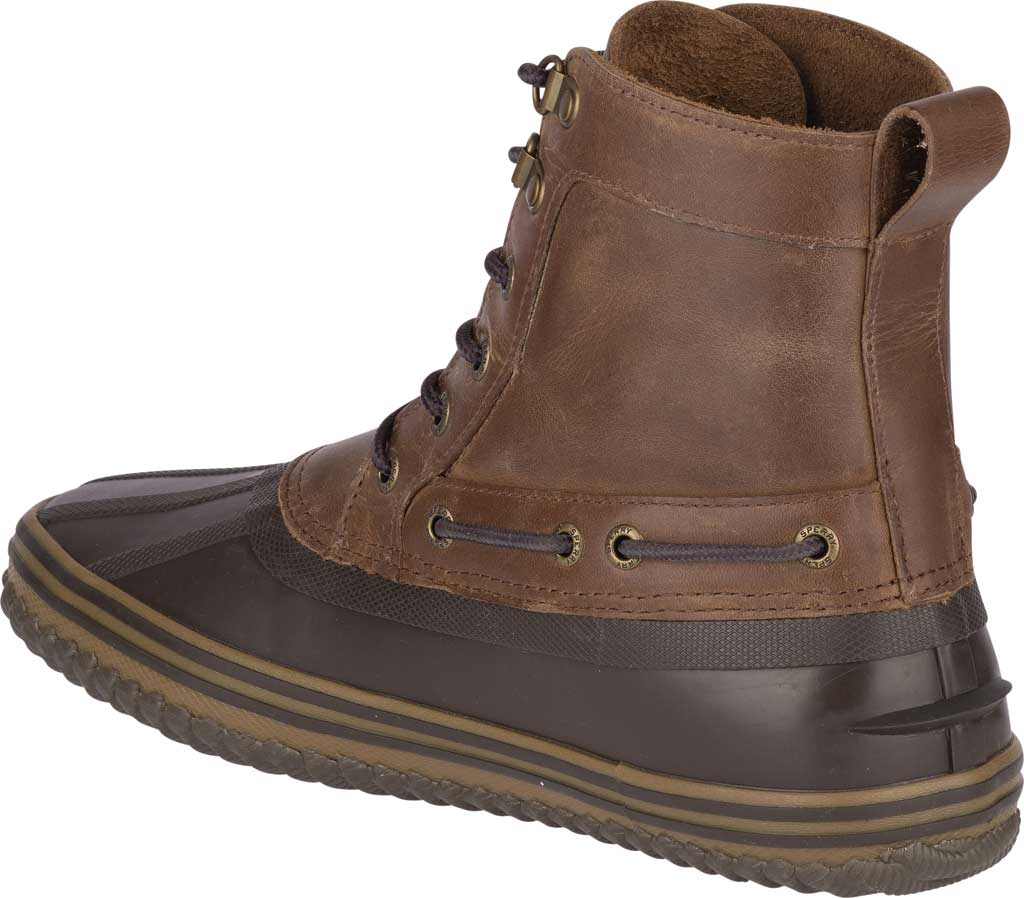 Men's Sperry Top-Sider Huntington Duck Boot, Brown/Dark Brown Rubber, large, image 4