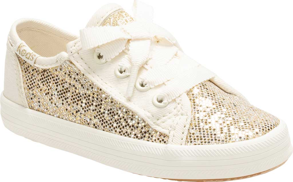 Infant Girls' Keds Kickstart Seasonal Jr Sneaker, Sparkle Textile, large, image 1