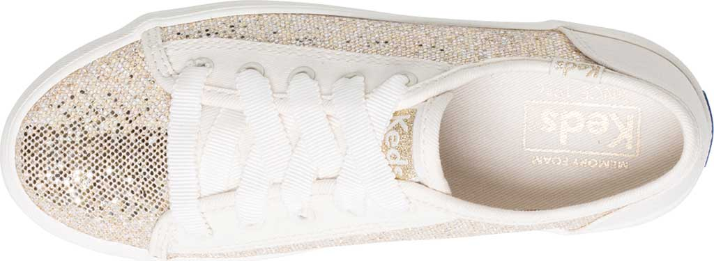 Infant Girls' Keds Kickstart Seasonal Jr Sneaker, Sparkle Textile, large, image 2
