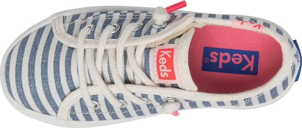 Infant Girls' Keds Kickstart Seasonal Jr Sneaker, Stripe Organic Cotton, large, image 4
