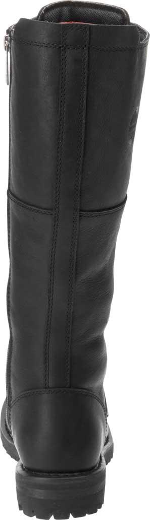 Women's Harley-Davidson Walfield Tall Motorcycle Boot, Black Full Grain Leather, large, image 4