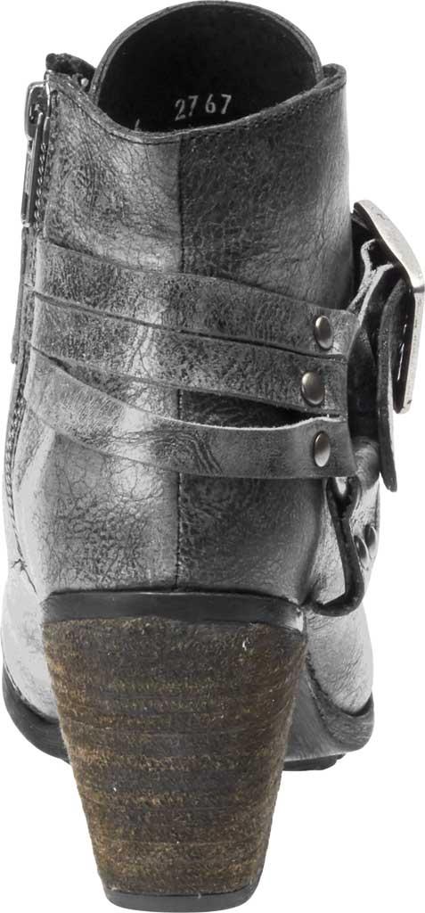 Women's Harley-Davidson Ashland Motorcycle Bootie, Grey Full Grain Leather, large, image 4