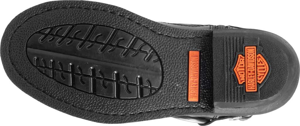 Women's Harley-Davidson Janice Motorcycle Boot, Black Full Grain Leather, large, image 6