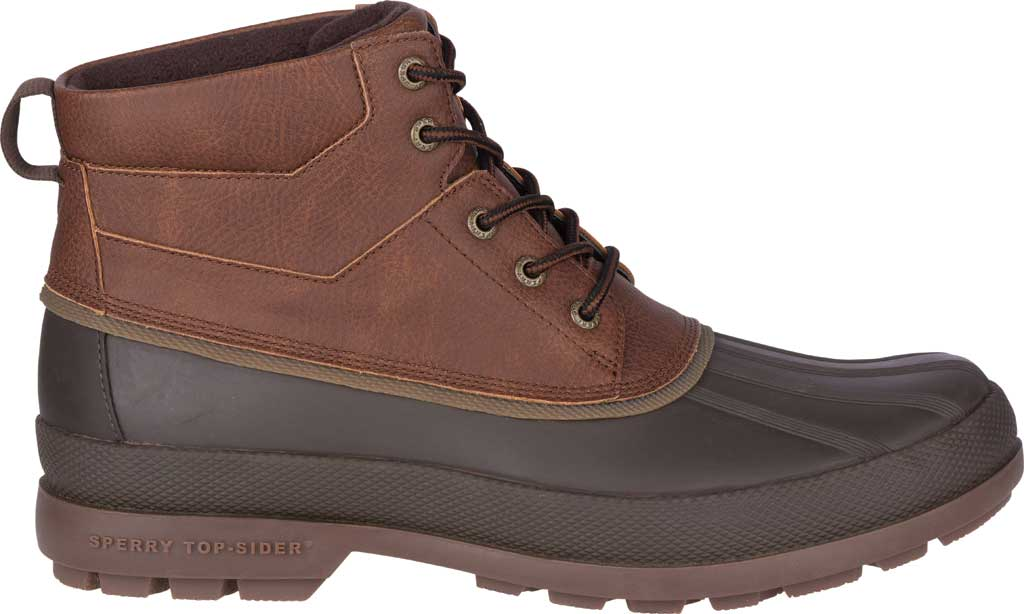 Men's Sperry Top-Sider Cold Bay Chukka Duck Boot, Brown Leather/Coffee Rubber, large, image 2