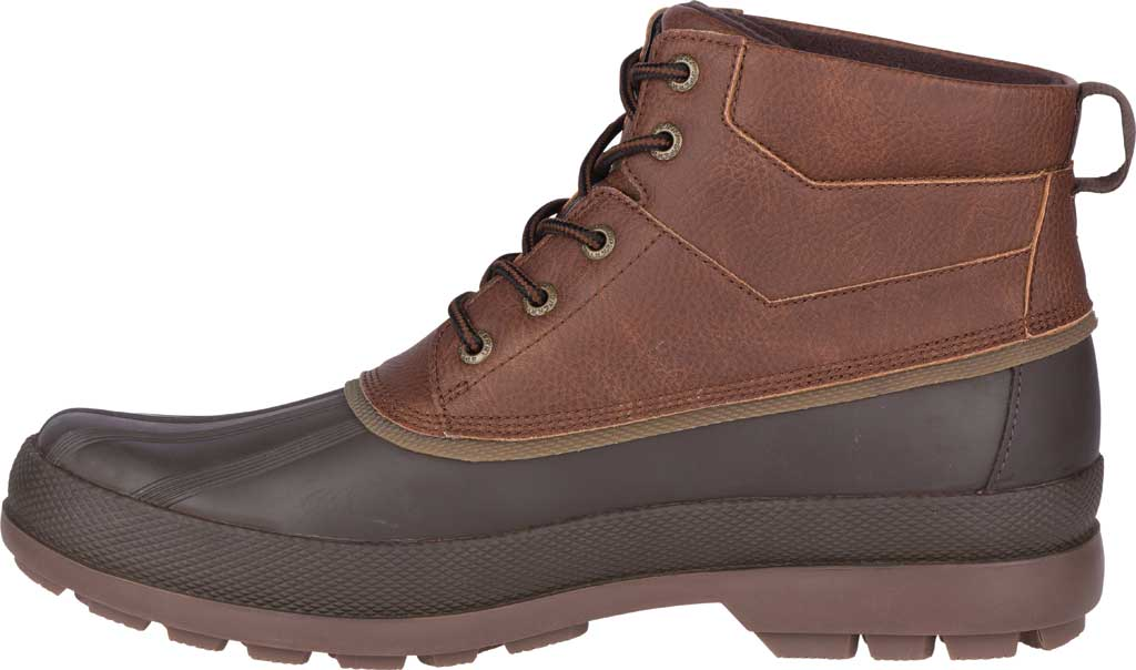 Men's Sperry Top-Sider Cold Bay Chukka Duck Boot, Brown Leather/Coffee Rubber, large, image 3