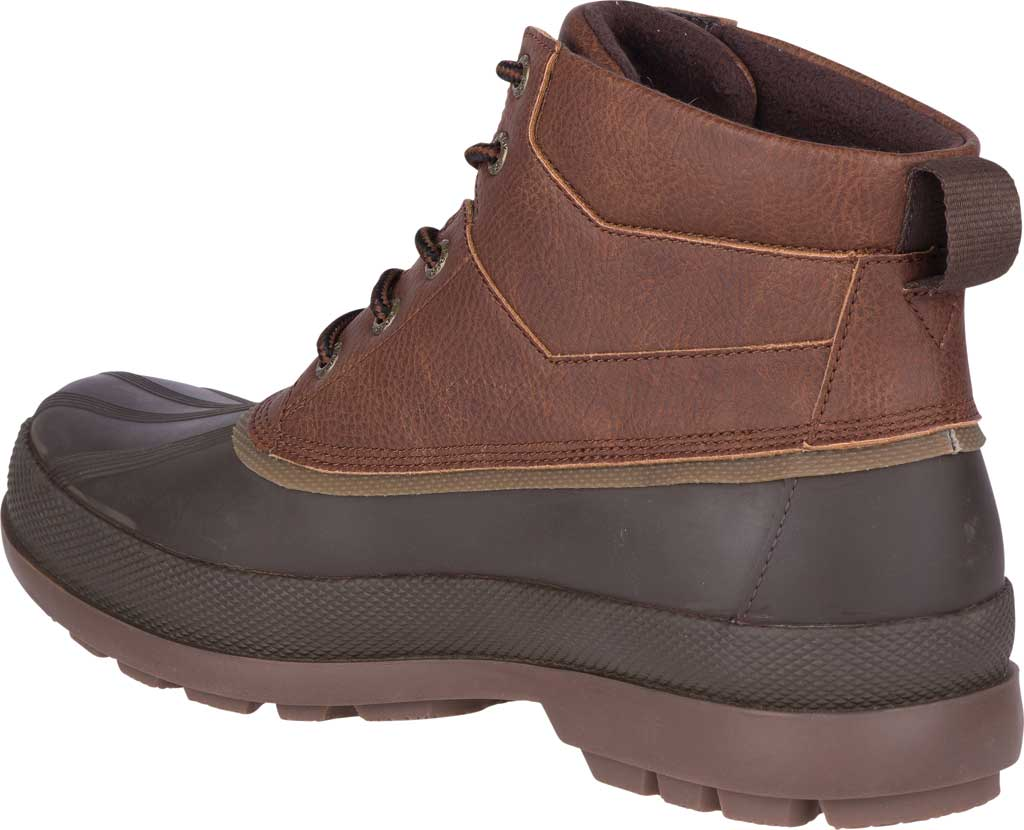 Men's Sperry Top-Sider Cold Bay Chukka Duck Boot, Brown Leather/Coffee Rubber, large, image 4