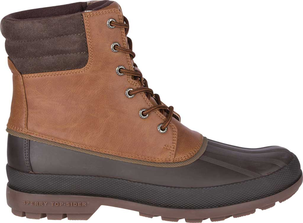 Men's Sperry Top-Sider Cold Bay 2 Duck Boot, Tan Leather/Brown Rubber, large, image 2