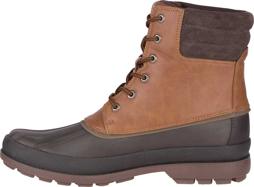 Men's Sperry Top-Sider Cold Bay 2 Duck Boot, Tan Leather/Brown Rubber, large, image 3