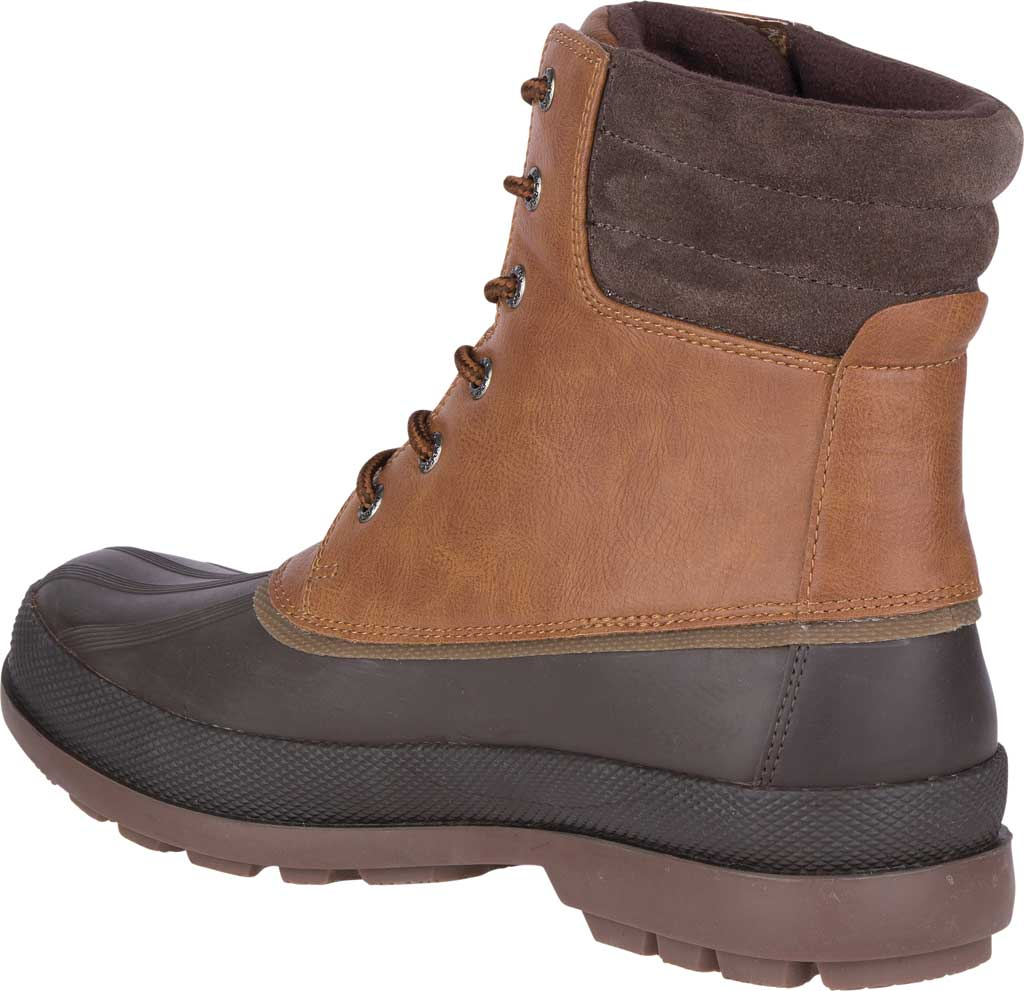 Men's Sperry Top-Sider Cold Bay 2 Duck Boot, Tan Leather/Brown Rubber, large, image 4