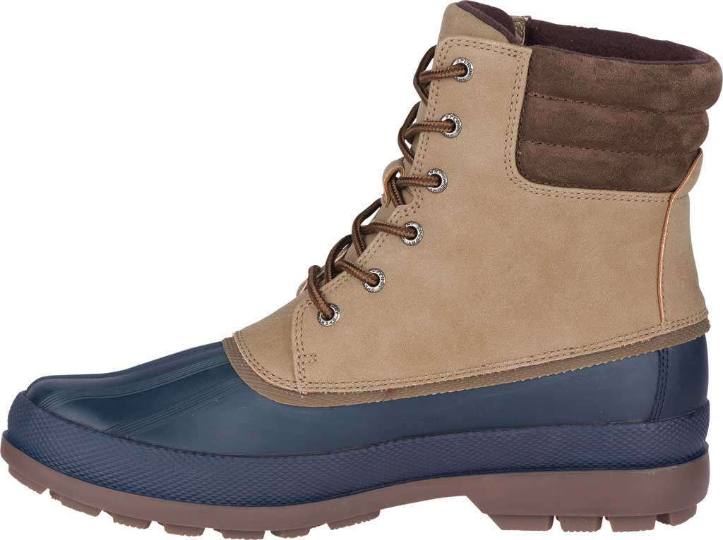 Men's Sperry Top-Sider Cold Bay 2 Duck Boot, Taupe Leather/Navy Rubber, large, image 3