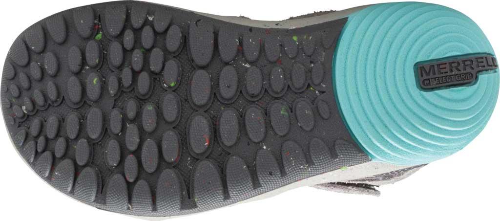 Infant Girls' Merrell Bare Steps Ridge Junior Hiking Shoe - Little Kid, Grey/Purple Leather, large, image 5