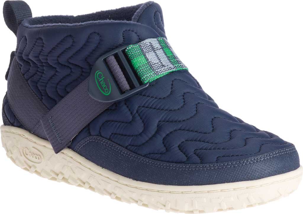 Women's Chaco Ramble Slip-On Quilted Boot, Denim Nylon, large, image 1