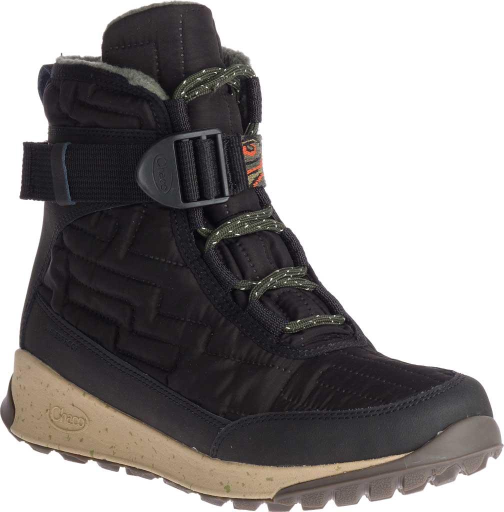 Women's Chaco Borealis Quilt Boot, Black Nylon, large, image 1