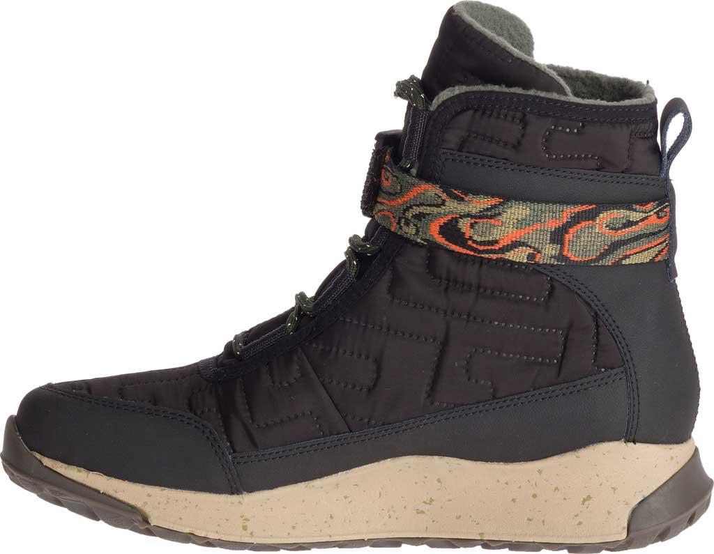 Women's Chaco Borealis Quilt Boot, Black Nylon, large, image 2