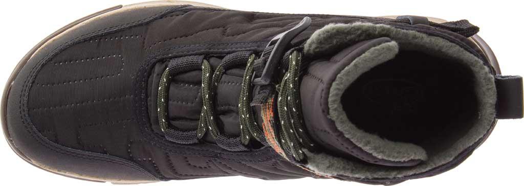 Women's Chaco Borealis Quilt Boot, Black Nylon, large, image 4