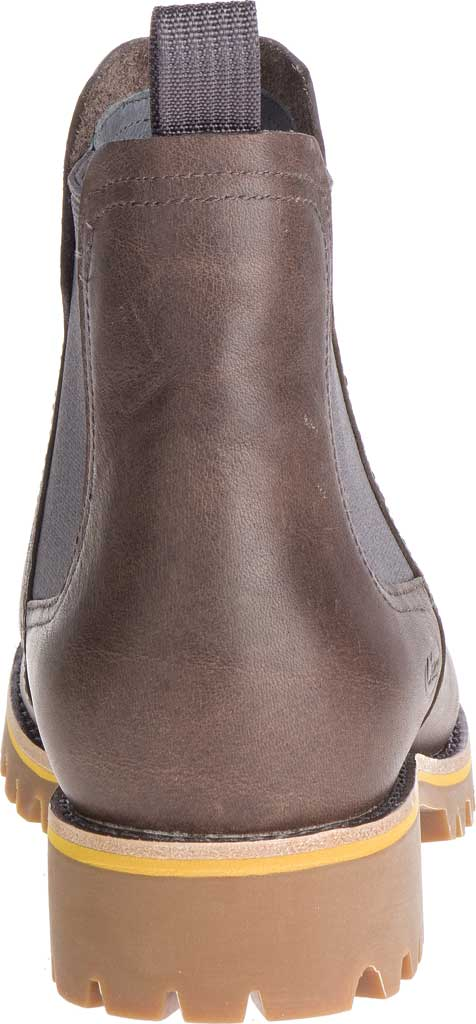Women's Chaco Fields Chelsea Boot, Fossil Full Grain Leather, large, image 4
