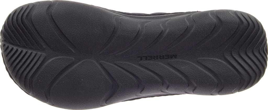 Women's Merrell Hut Moc Slip On, Triple Black Quilted Nylon, large, image 6