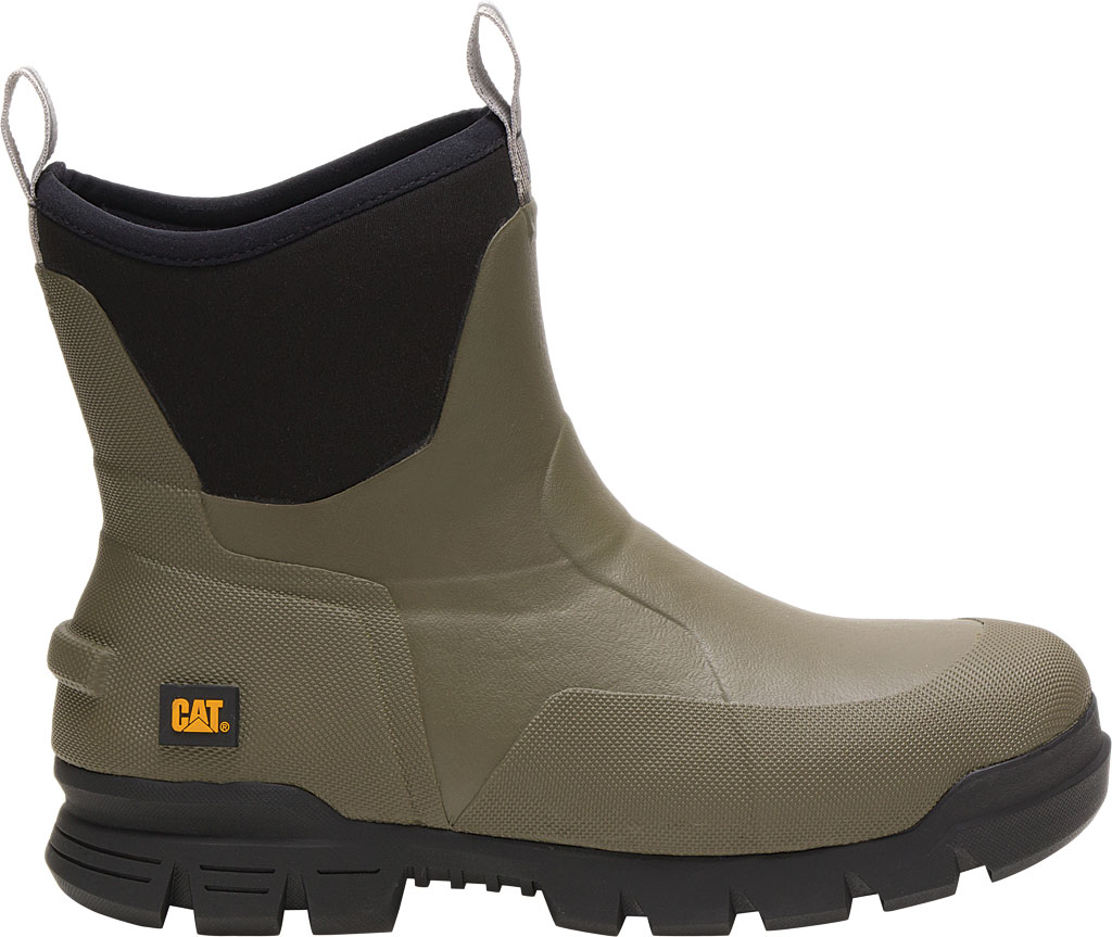 """Caterpillar Stormers 6"""" Waterproof Rubber Boot, Olive Night Rubber/Neoprene, large, image 2"""