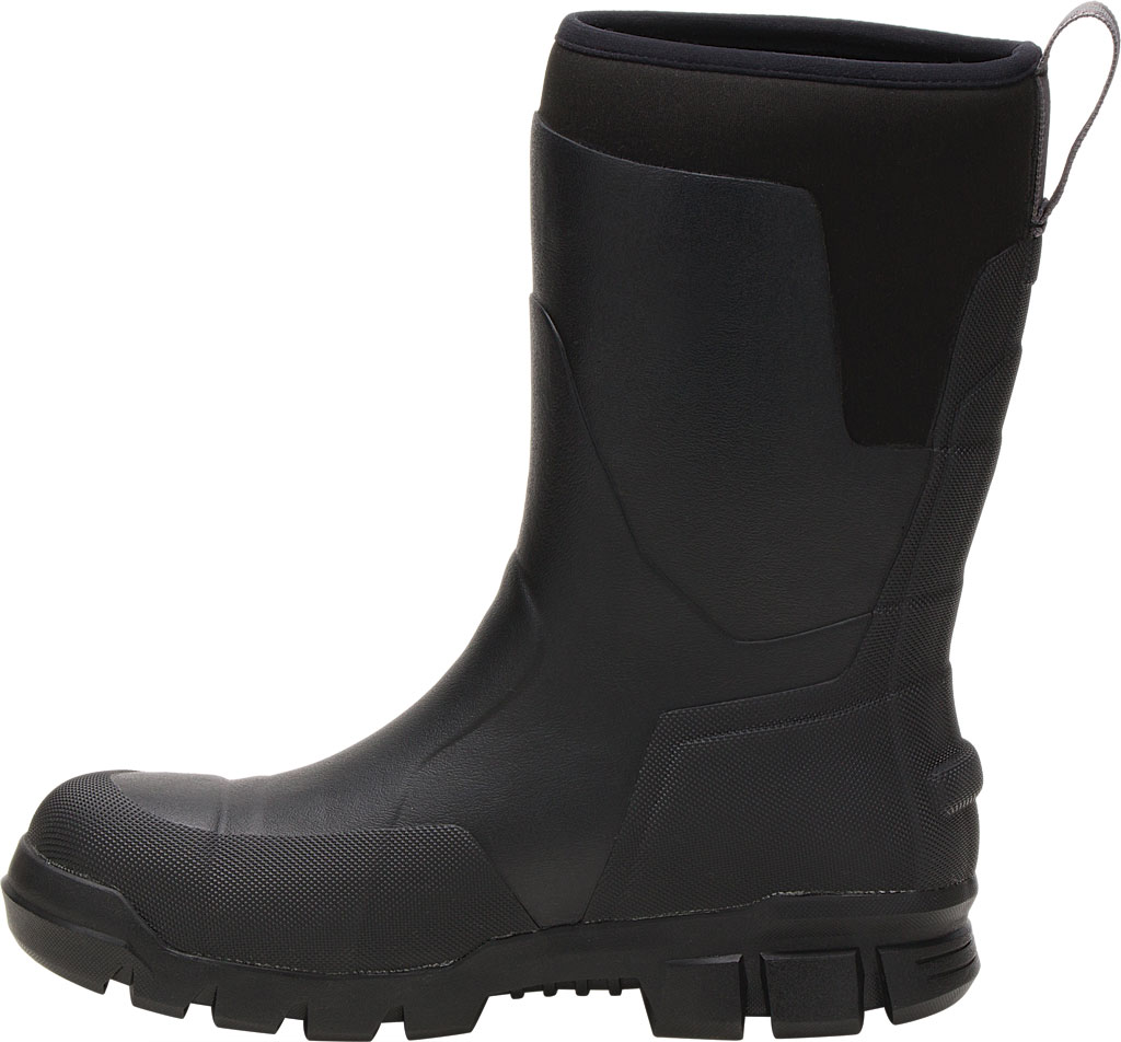 "Caterpillar Stormers 11"" Waterproof Steel Toe Rubber Boot, Black Rubber/Neoprene, large, image 3"