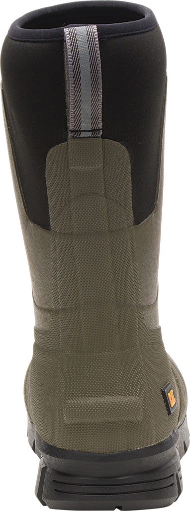 """Caterpillar Stormers 11"""" Waterproof Rubber Boot, Olive Night Rubber/Neoprene, large, image 4"""