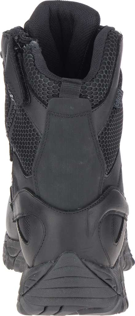 """Men's Merrell Work Moab 2 8"""" Tactical Response WP Composite Toe Boot, Black Waterproof Leather/Textile, large, image 4"""