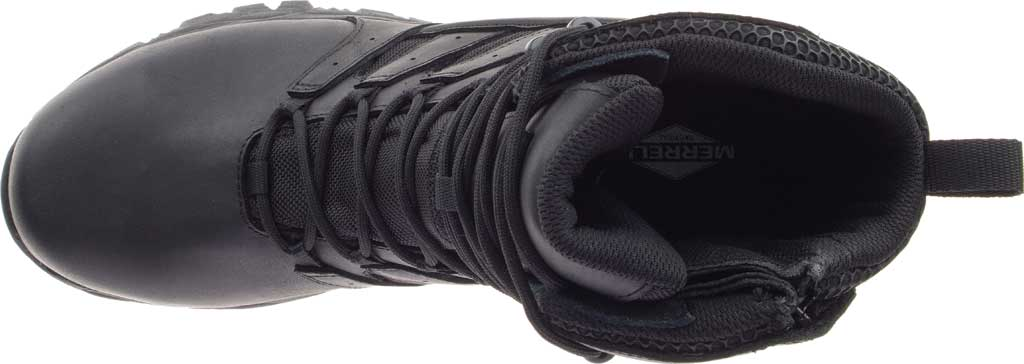 """Men's Merrell Work Moab 2 8"""" Tactical Response WP Composite Toe Boot, Black Waterproof Leather/Textile, large, image 5"""