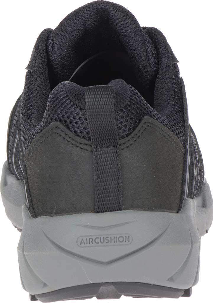 Women's Merrell Work Fullbench Superlite Alloy Toe Work Shoe, Black Mesh/Synthetic, large, image 4
