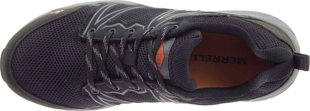 Women's Merrell Work Fullbench Superlite Alloy Toe Work Shoe, Black Mesh/Synthetic, large, image 5