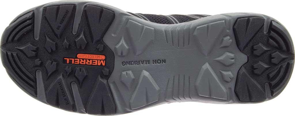 Women's Merrell Work Fullbench Superlite Alloy Toe Work Shoe, Black Mesh/Synthetic, large, image 6