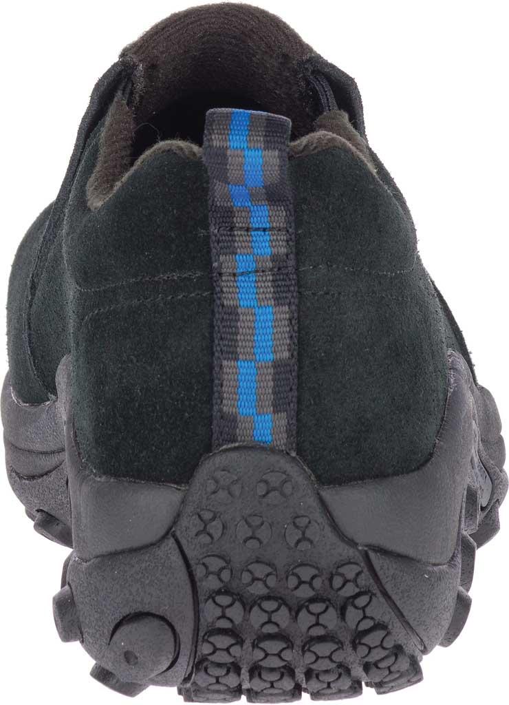 Women's Merrell Work Jungle Moc Alloy Toe Work Shoe, Black Waterproof Suede, large, image 4
