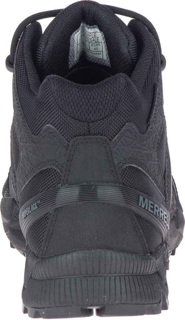 Men's Merrell Work Agility Peak Mid Tactical Waterproof Boot, Black Waterproof Ballistic Mesh, large, image 4