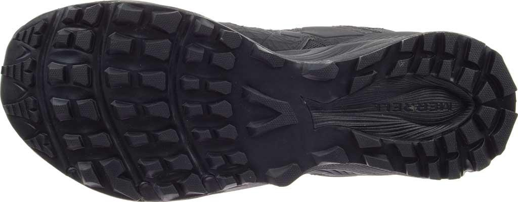 Men's Merrell Work Agility Peak Mid Tactical Waterproof Boot, Black Waterproof Ballistic Mesh, large, image 6