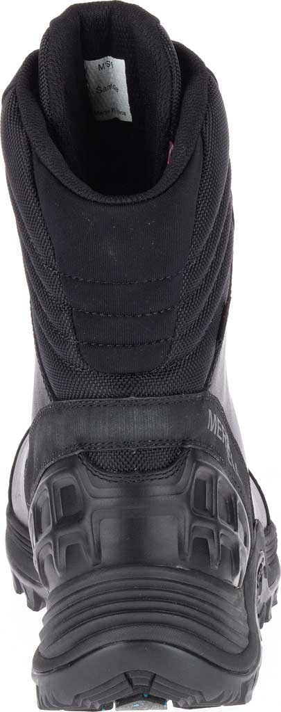 Men's Merrell Work Thermo Rogue Tactical Waterproof Ice+ Snow Boot, Black Waterproof Leather/Ripstop Textile, large, image 4