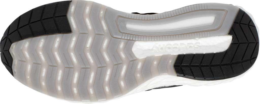 Men's Saucony Hurricane 22 Running Sneaker, Black/White, large, image 5