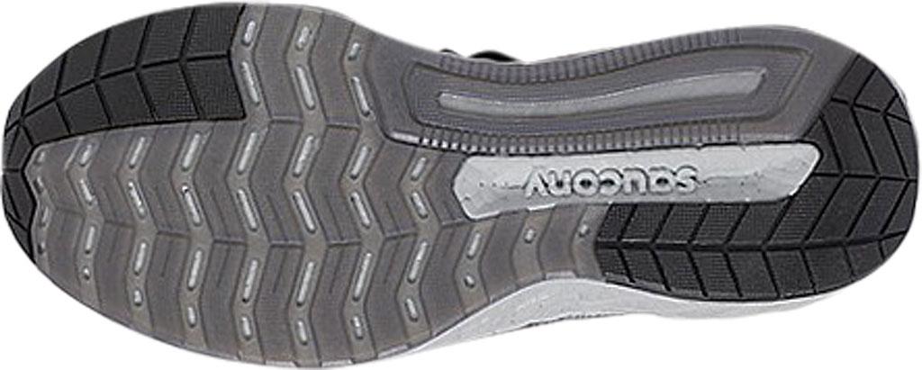 Men's Saucony Hurricane 22 Running Sneaker, Blackout Engineered Mesh, large, image 5
