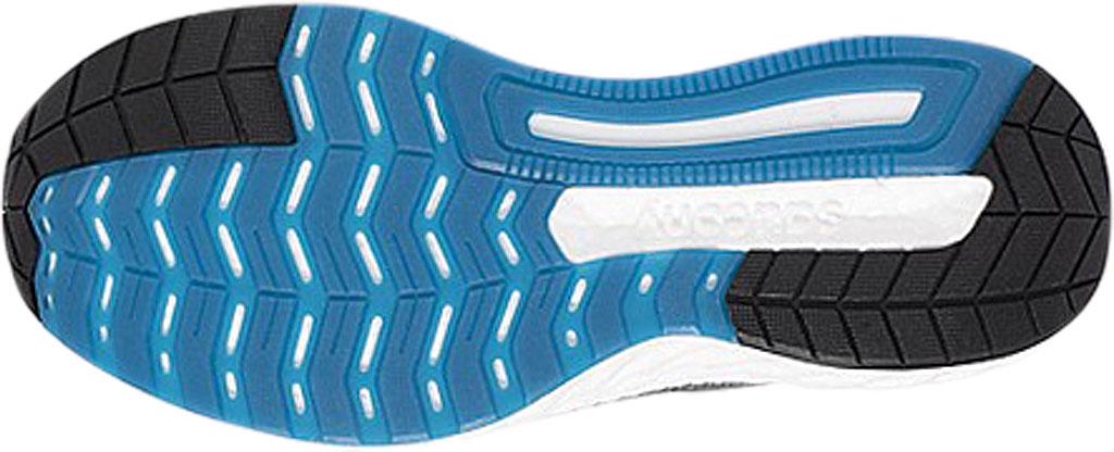 Men's Saucony Hurricane 22 Running Sneaker, Grey/Black Engineered Mesh, large, image 5